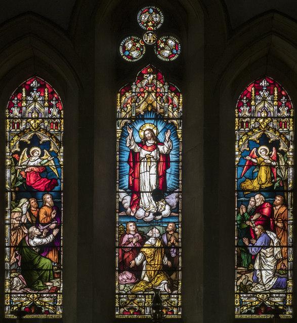 St Nicolas, Manea - Stained glass window