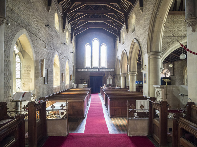 St Nicolas, Manea - West end