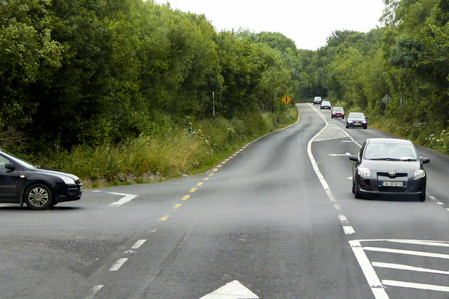 N71 near the Bandon Recycling Site