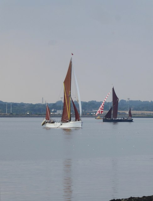The Thames sailing-barge match, July 2018 (1)