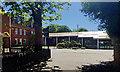 SE3221 : Modern block, Wakefield Girls' High School, Margaret Road, Wakefield by Robin Stott