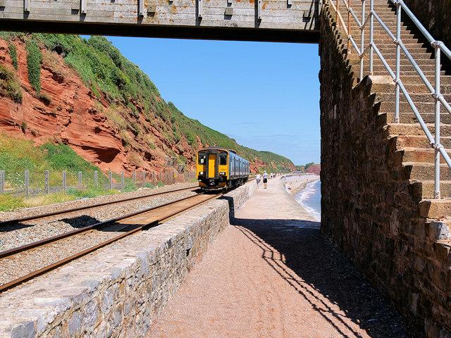 Sprinter Commuter Train near Dawlish