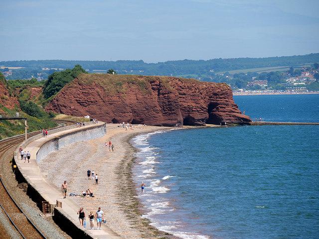 Coastal Railway and Langstone Rock