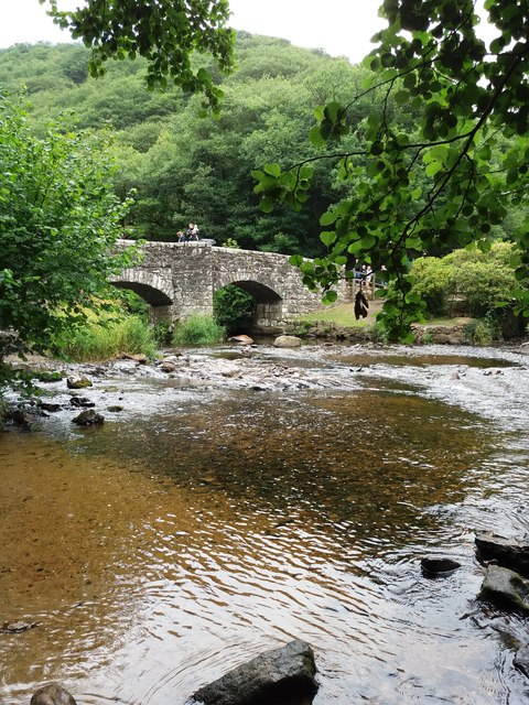 Fingle Bridge, in the Teign valley
