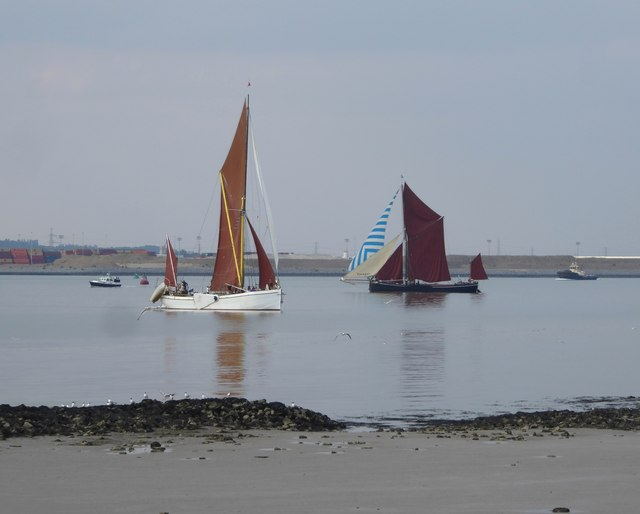 The Thames sailing-barge match, July 2018 (2)