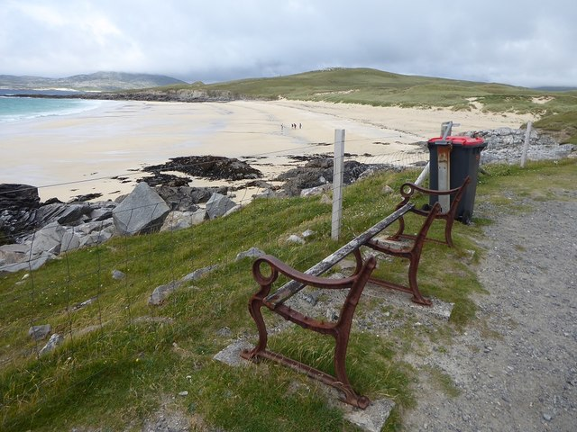 Lay-by on A859 above Traigh Iar