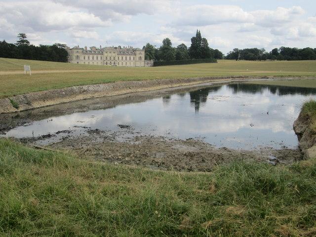 Woburn Abbey and Basin Pond