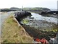 NG0482 : Tidal harbour at Roghadal by David Gearing