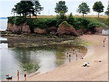 SX9063 : Corbyn Beach and Corbyn Head by David Dixon