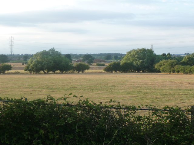 The Trent valley, between Handsacre and Mavesyn Ridware