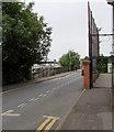 SU4666 : Station Road entrance to a school, Newbury by Jaggery