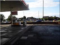 SO8915 : Petrol station on the Crosslands Roundabout, Brockworth by David Howard