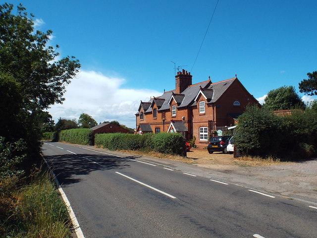 Cottages on Brampton Lane, near Pitsford