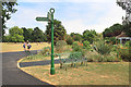 TQ3373 : The Green Chain in Dulwich Park by Des Blenkinsopp