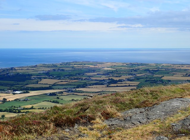 Ballagan Point viewed from the eastern summit of Barnavave