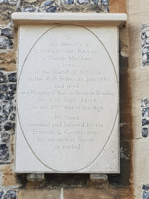 To the memory of Laurenthes Braag, Reading Minster