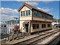 SX8851 : Kingswear Signal Box by David Dixon