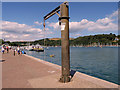 SX8751 : Hoist on the Quayside at Dartmouth by David Dixon
