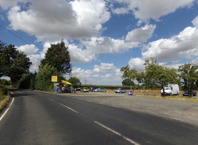 B1024 Colne Road & Elson Car Wash