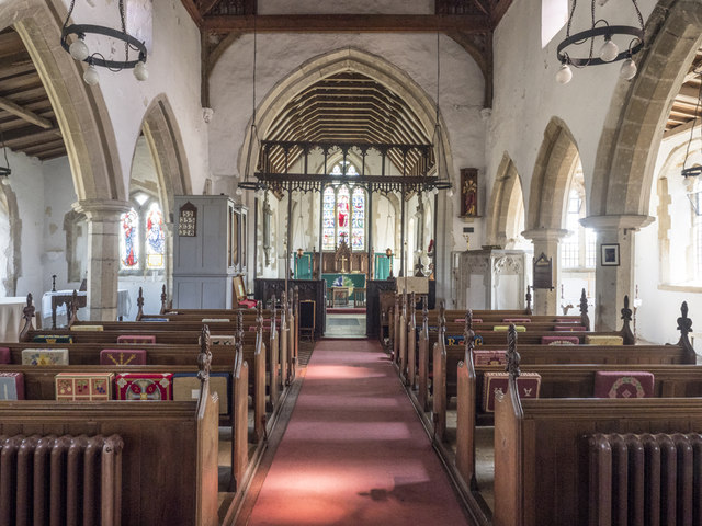 St Martin, Witcham - East end