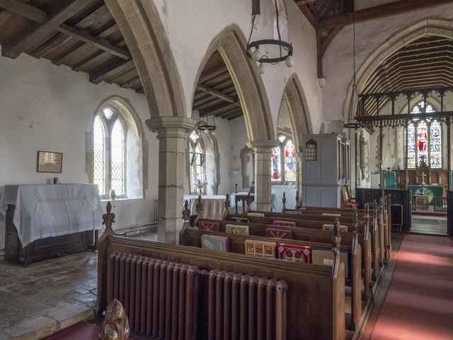 St Martin, Witcham - North arcade