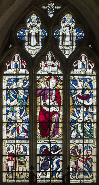 St Martin, Witcham - Stained glass window