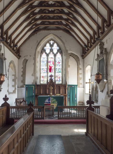 St Martin, Witcham - Chancel