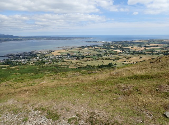 The south-eastern coastlands of the Cooley Peninsula