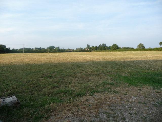 Farmland east of New Thorntree Farm
