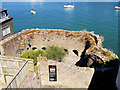 SX8750 : Bearscove Castle, Bayards Cove (Bayard's Cove Fort) by David Dixon