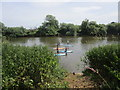 SO8832 : Paddle boarding on the River Severn by Jonathan Thacker