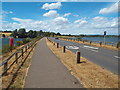 SP7870 : Causeway across Pitsford Water, Northamptonshire by Malc McDonald
