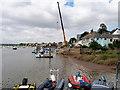 SX9687 : River Exe at Topsham Quay by David Dixon
