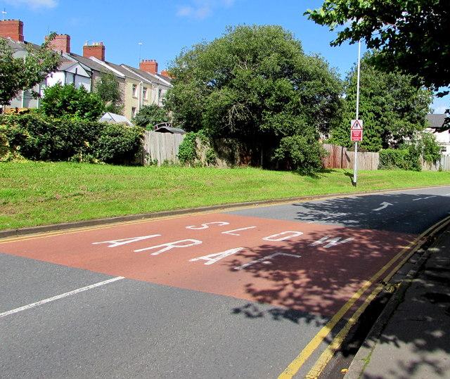 SLOW/ARAF on Barrack Hill, Newport