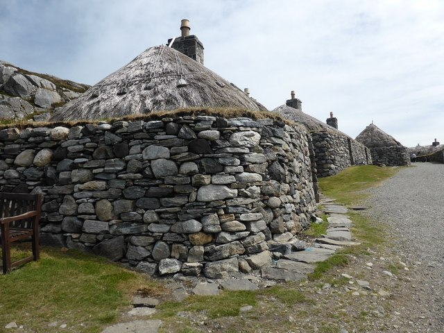 Buildings in Gearrannan Blackhouse Village