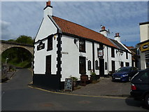 NO4102 : The Railway Inn, Lower Largo by Richard Law