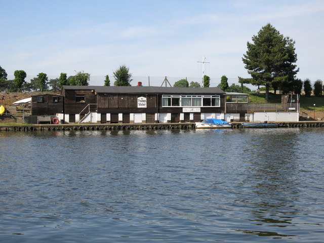Clubhouse of the Aquarius Sailing Club