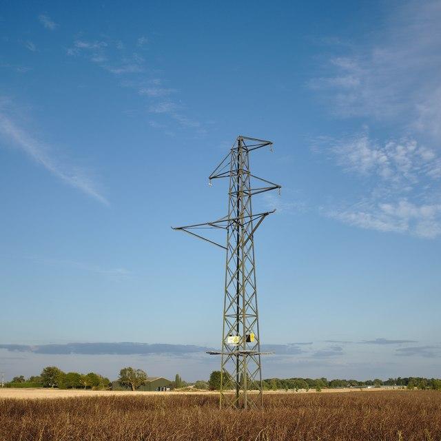 Defunct pylon