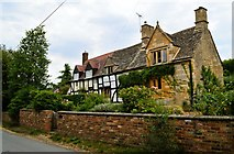 SO9832 : Church Cottage and Tudor Cottage, Alstone by Philip Pankhurst
