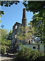 SW7344 : Killifreth Mine - stamps house by Chris Allen