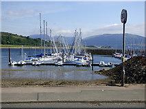 NS0667 : Port Bannatyne Marina by Thomas Nugent