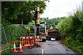 H5059 : Road closed, Corkhill / Corkhill Demesne by Kenneth  Allen