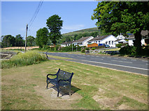 NS0668 : Bench at Ettrickdale by Thomas Nugent