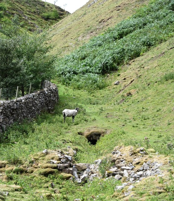 Level entrance in Fore Gill by Gordon Hatton
