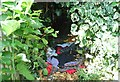 TG2208 : A homeless person's den by Evelyn Simak