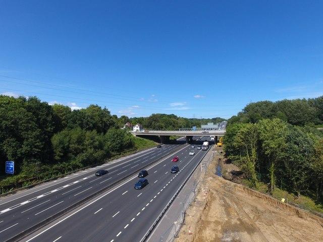 Bridge replacement works