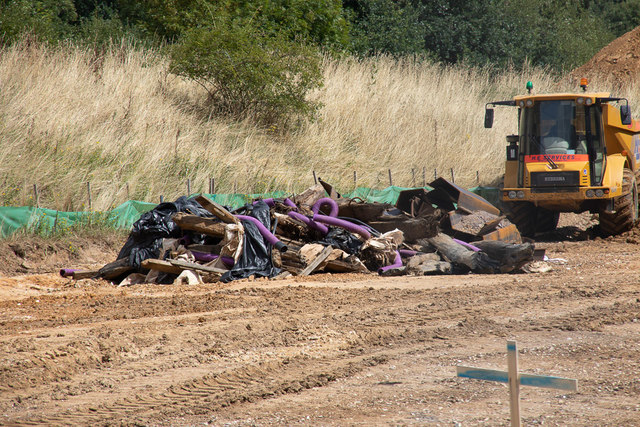Stuff removed from side of M27