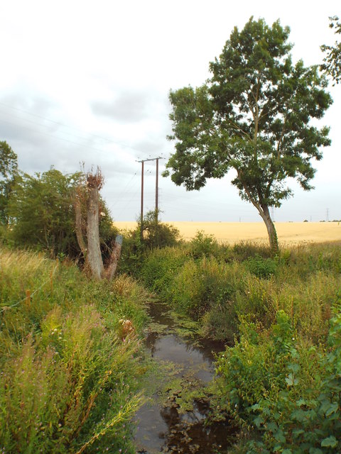 River Ise at Newbottle Bridge, Northamptonshire