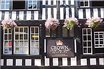 SJ6552 : The Crown, Nantwich by Stephen McKay