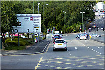 SX9065 : Hele Road, Lowes Bridge Junction by David Dixon